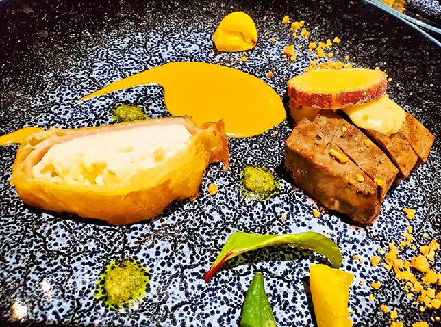 グランヴィリオホテル宮島の料理