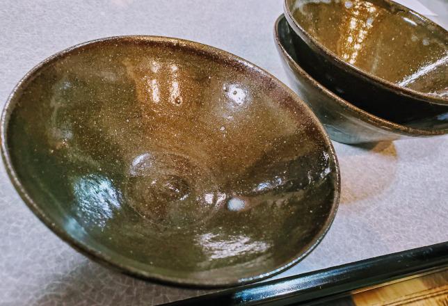 三阪商店のお皿